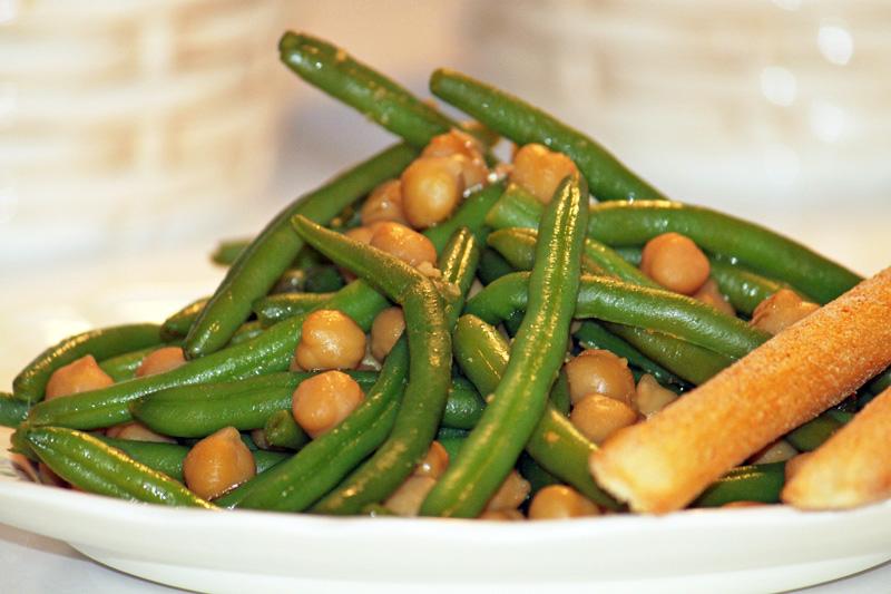 Green Bean Salad Chickpea Recipe