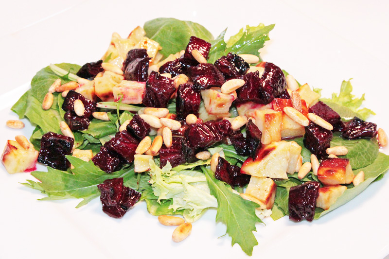 Spring Salad with Roasted Beet and Sweet Potato   Vegan ...