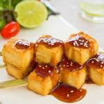Crispy Tofu with Asian Barbecue Sauce