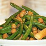 Green Bean and Chickpea Salad with Sesame Dressing