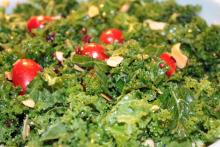 Kale Salad with Citrus Dressing