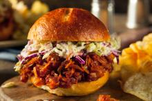 Barbecued Jackfruit Sandwiches