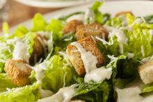 Blackened Tofu Caesar Salad
