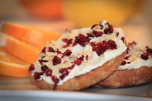cranberry bliss english muffins